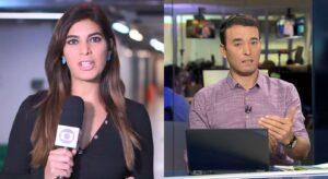 André Rizek provoca Andréia Sadi após derrota do São Paulo