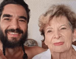Áudio da avó criticando a barba de Caio Blat vai parar em rede nacional e ele reage