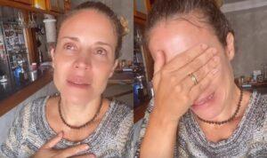 Maíra Charken faz agradecimento aos fãs após chorar por falta de dinheiro