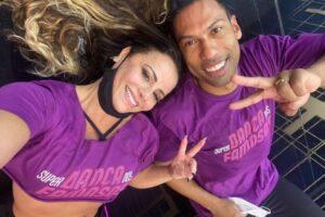 Viviane Araújo vence a última eliminatória da 'Super Dança dos Famosos'. Saiba qual dupla será eliminada neste domingo.