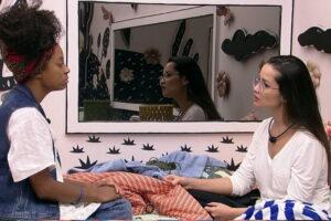 """Lumena fala em redenção após reencontro com Juliette: """"Senti algo muito bom dentro de mim"""""""