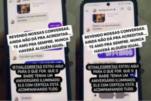 Anitta resgata print com mensagens antigas de Paulo Gustavo e emociona seguidores